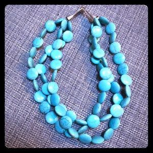 Turquoise Stella and Dot Statement Necklace